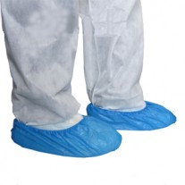 כיסוי חד פעמי לנעליים עשוי ניילון 10 יחידות
