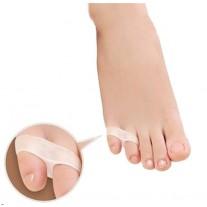 מפריד אצבעות מסיליקון לאצבעות הקטנות בכף הרגל