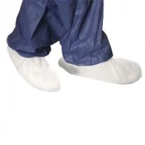 כיסוי חד פעמי לנעליים עשוי בד לא ארוג בצבע לבן 10 יחידות