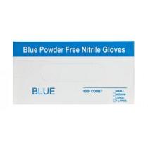 כפפות ניטריל ואיכותיות בצבע כחול