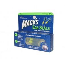 אטמי אוזניים במיוחד לרעש ומים עם חוט קשירה זוג macks
