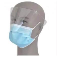 מסכות פנים עם מגן לעיניים