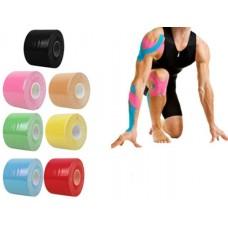 טייפ קינזיולוגי בצבעים לספורט | טאפ קינזיולוגי לחבישה