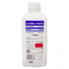 כלורהקסידין|אלכוקסידין|אלכוספט|תמיסה לחיטוי העור