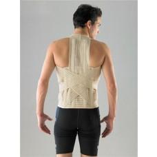 חגורה גב עם רצועות תמיכה לגב עליון וגב תחתון
